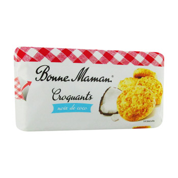 Croquants noix de coco, Bonne Maman (150 g)