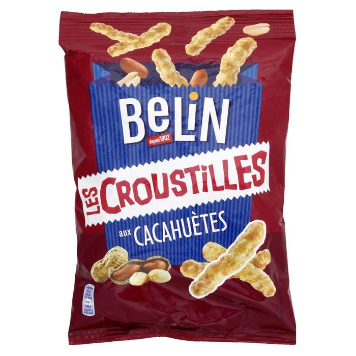 Croustilles goût cacahuète, Belin (88 g)
