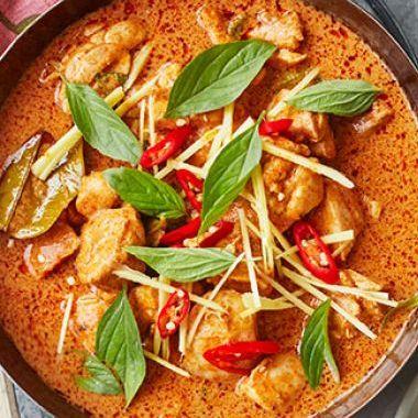 Curry rouge thaï au porc (300 g)