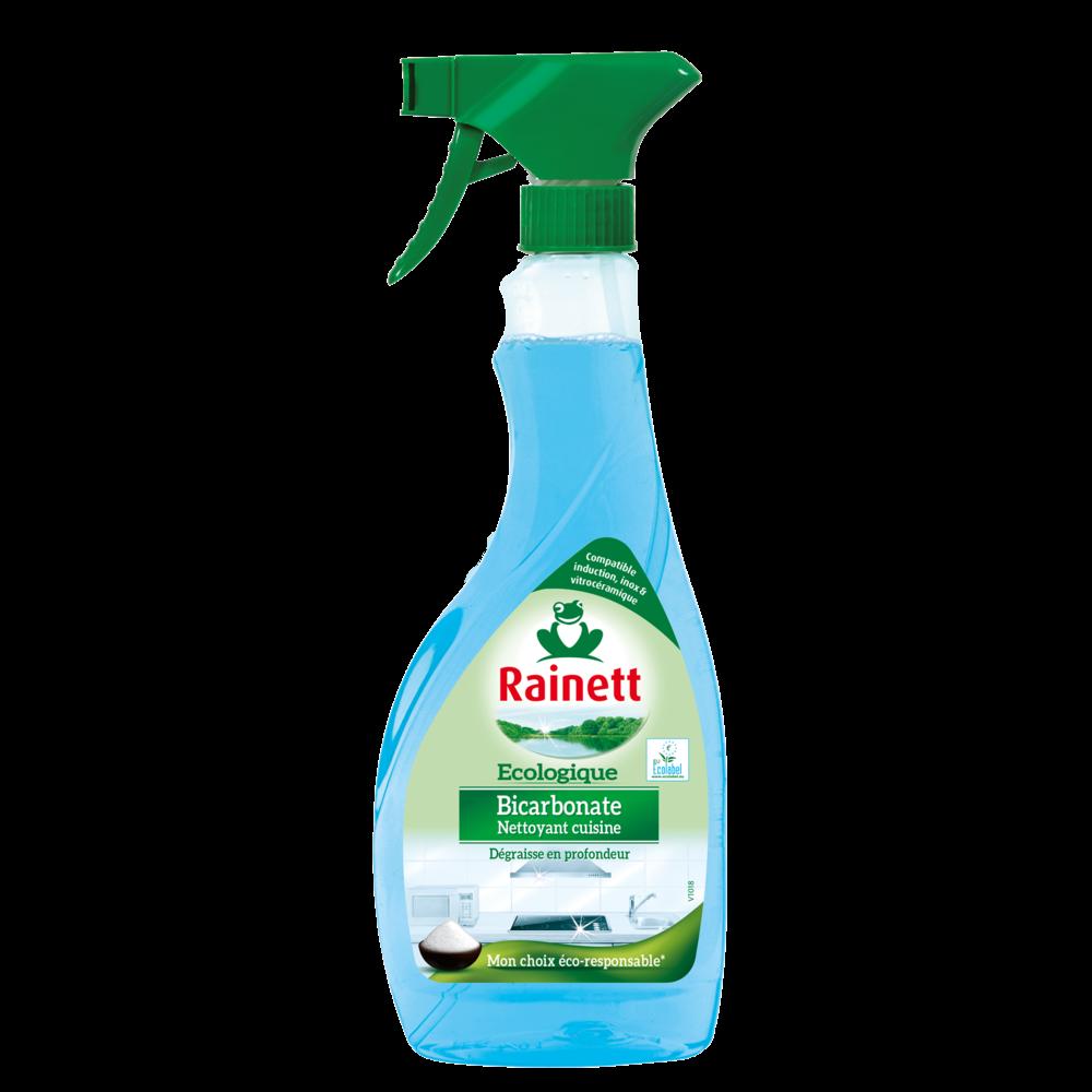 Dégraissant pour cuisine bicarbonate, Rainett (500 ml)