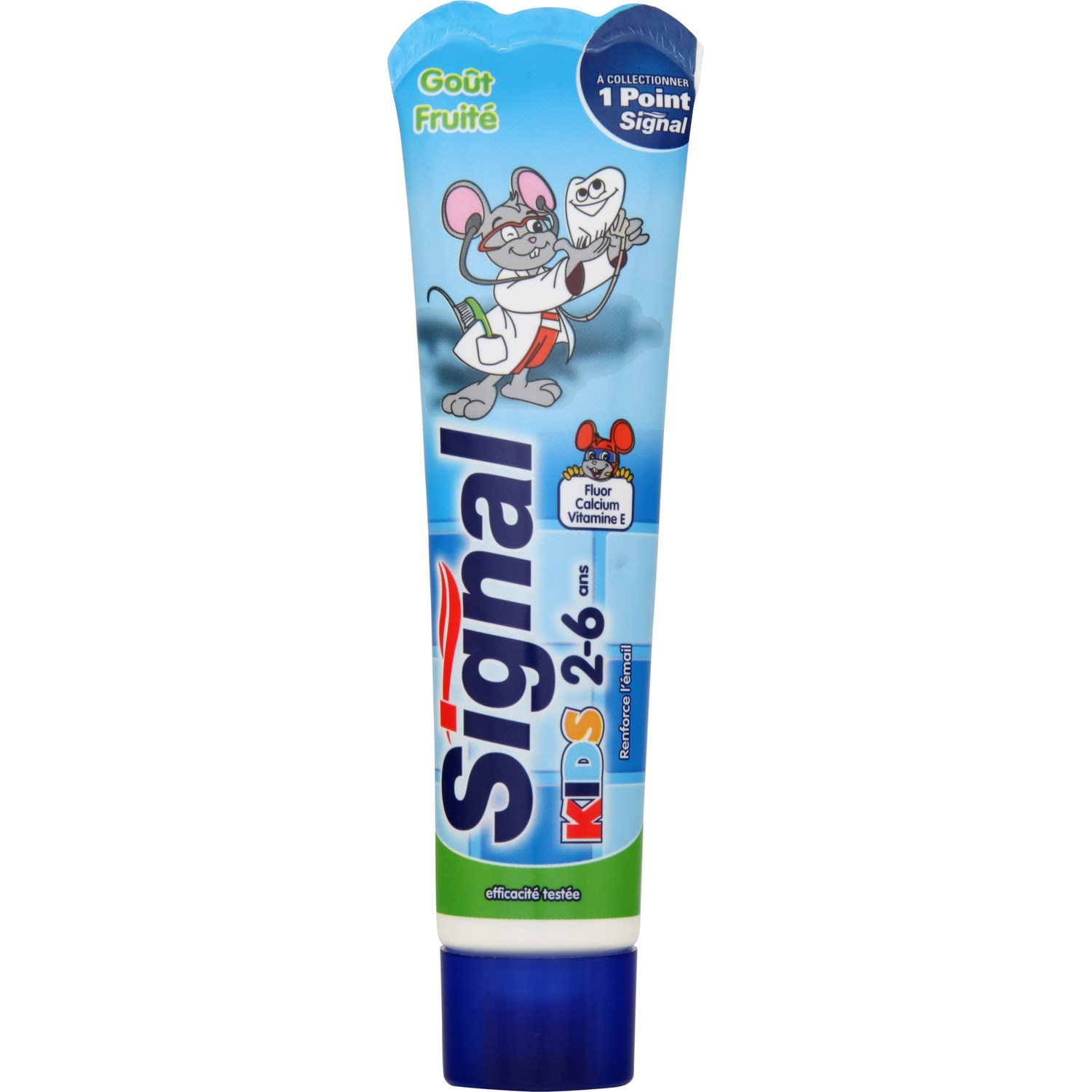 Dentifrice Kids 2-6 ans, Signal (50 ml)