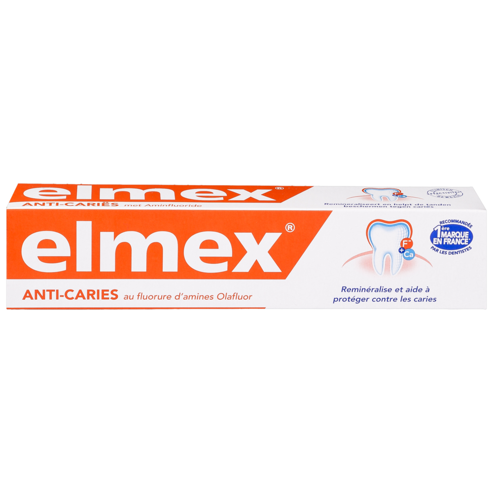 Dentifrice anti-caries, Elmex (75 ml)