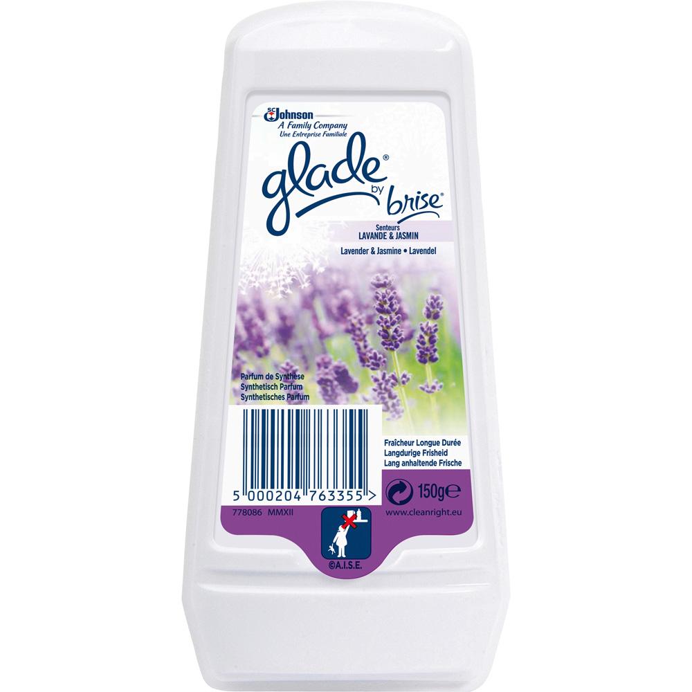 Désodorisant en gel longue durée parfum lavande, Glade by Brise