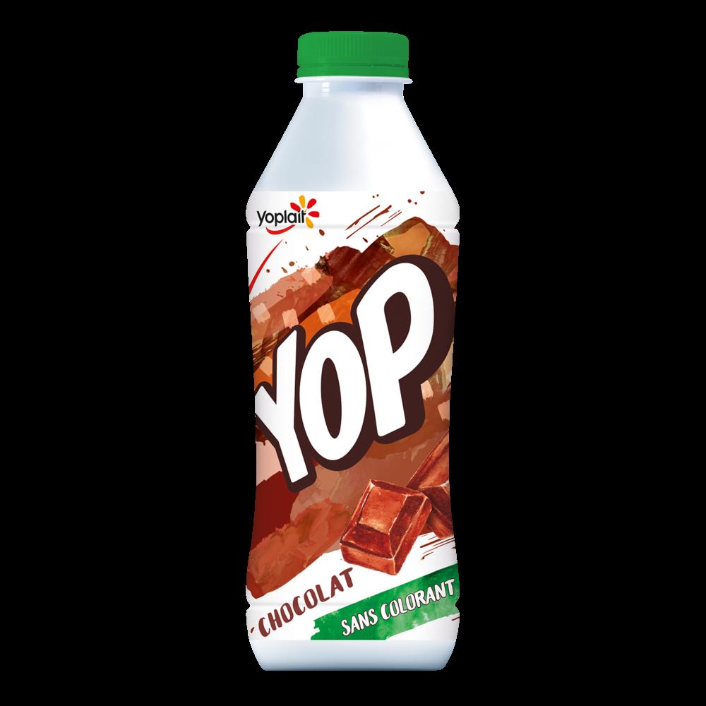 Yaourt à boire chocolat, Yop (825 g)