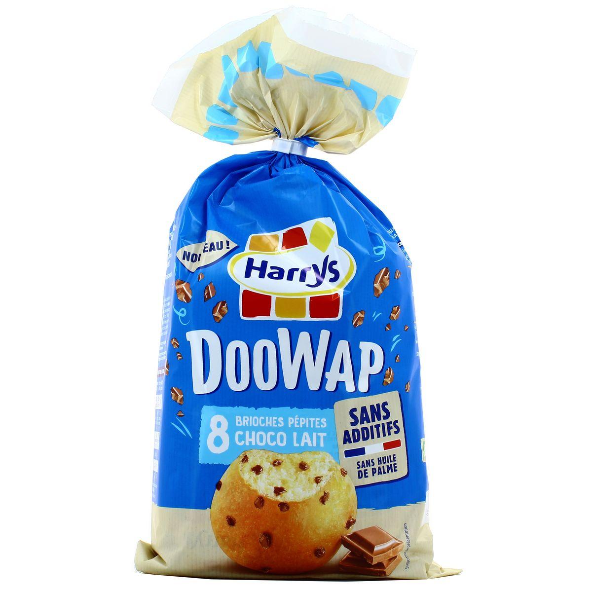 Doowap aux pépites de chocolat au lait, Harry's (x 8, 320 g)