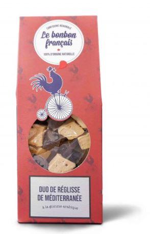 Duode réglisse de Méditerranée, Le Bonbon Français (170 g)