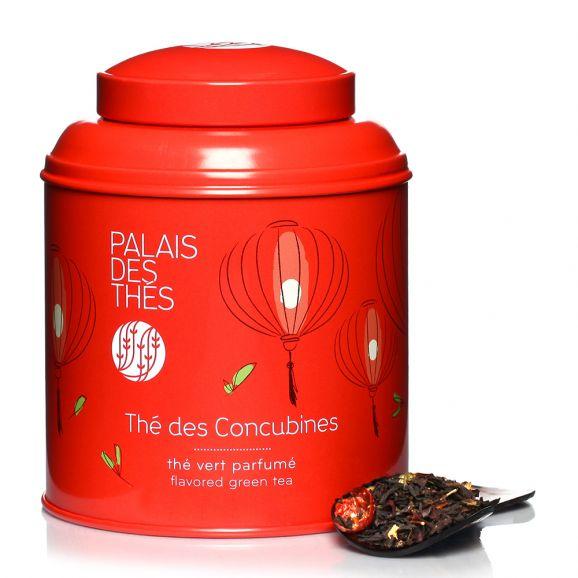 Thé noir des Concubines - boîte colorée, Palais des Thés (100 g)