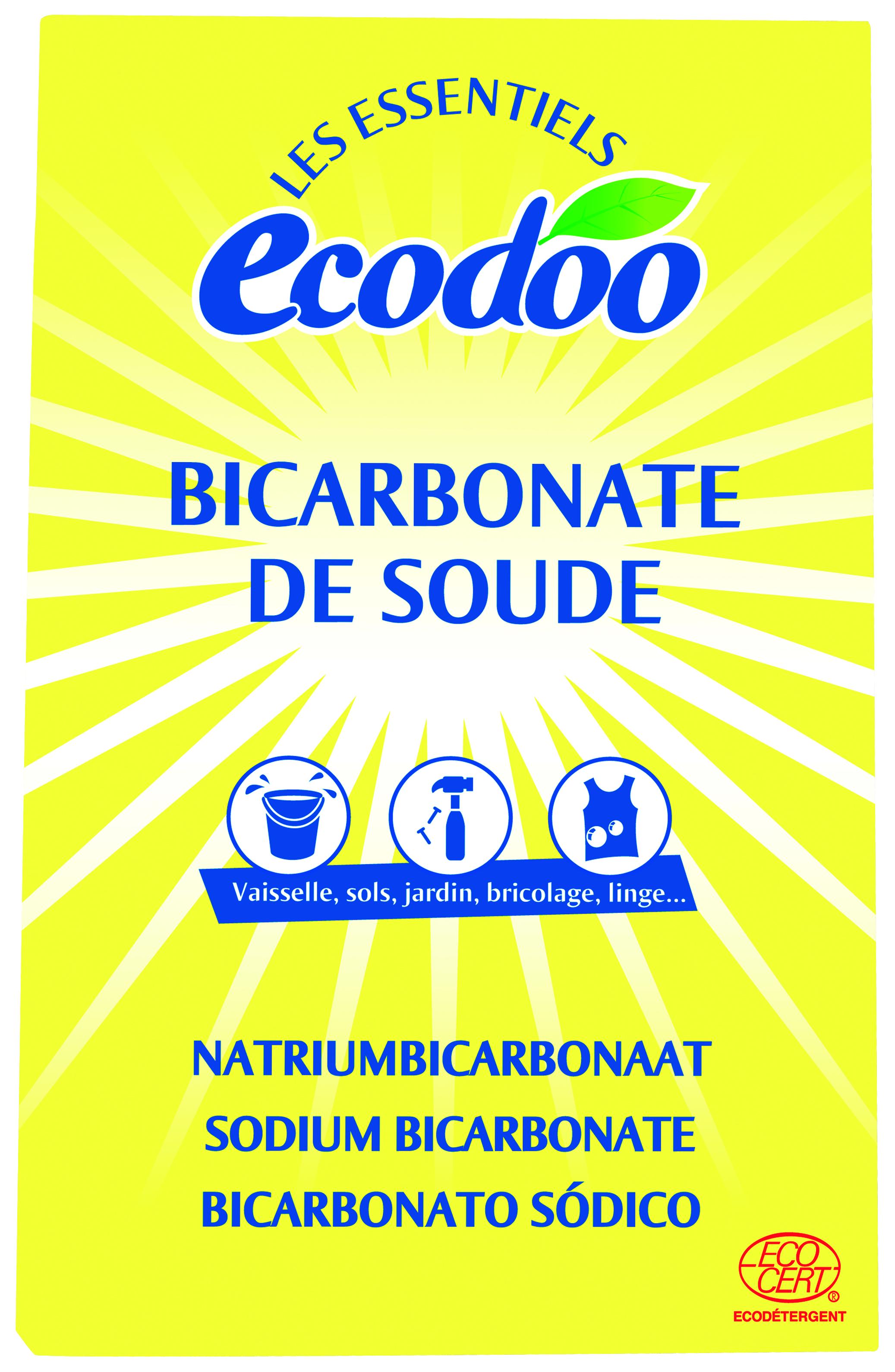 Bicarbonate de soude ecodoo 500 g miamtag livraison for Nettoyage argenterie bicarbonate de soude