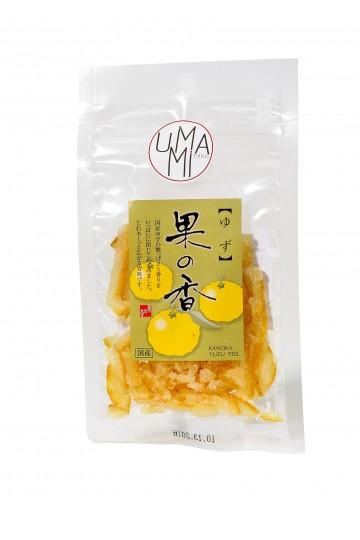 Ecorces de yuzu sucrées (30 g)