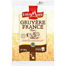 Gruyère râpé IGP, Entremont (150 g)