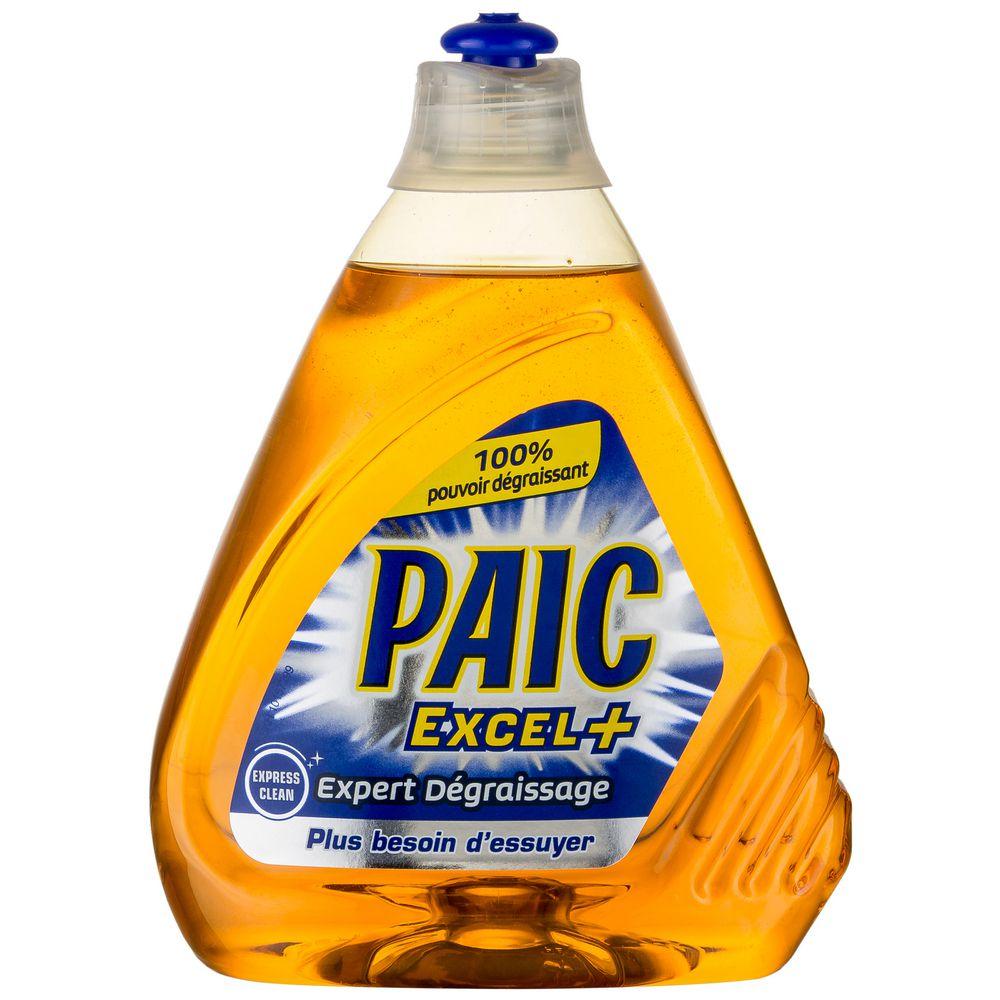 Liquide vaisselle Excel + Expert dégraissant, Paic (500 ml)