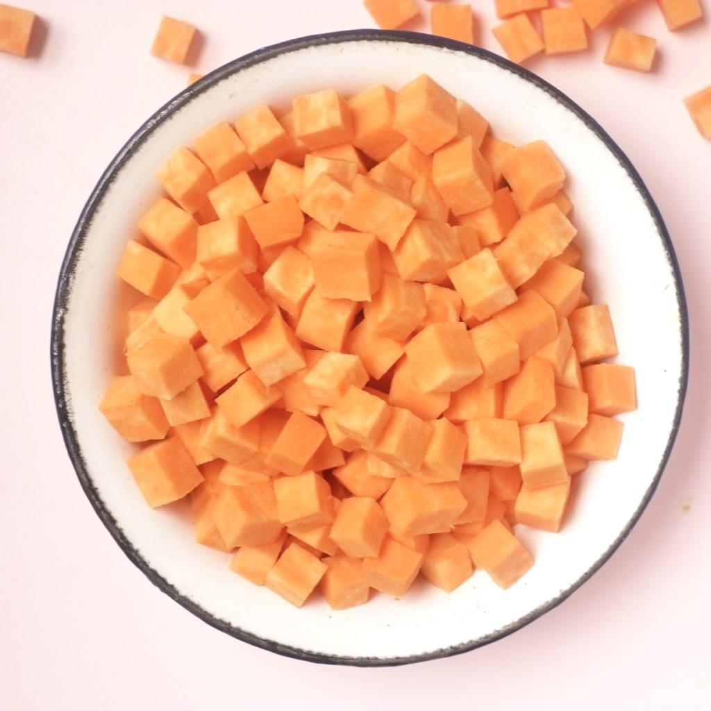Patate douce en cube (environ 300 g)