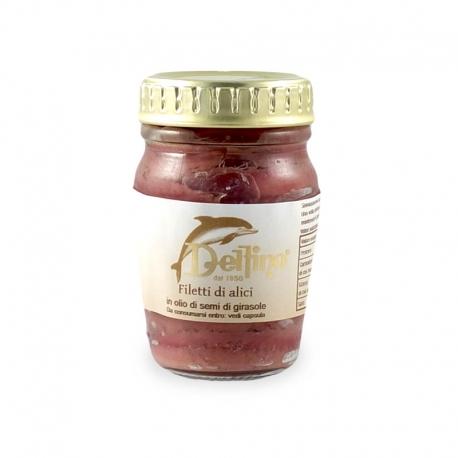 Filet d'anchois à l'huile, Delfino (80 g)