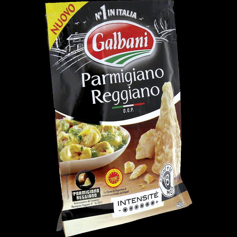 Parmigiano Reggiano DOP râpé, Galbani (60 g)
