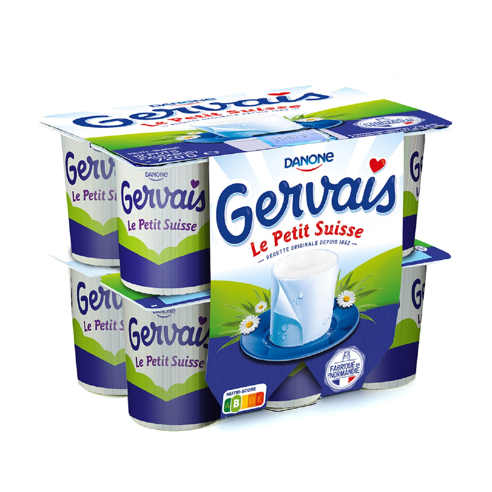 Le petit suisse, Gervais (12 x 60 g)