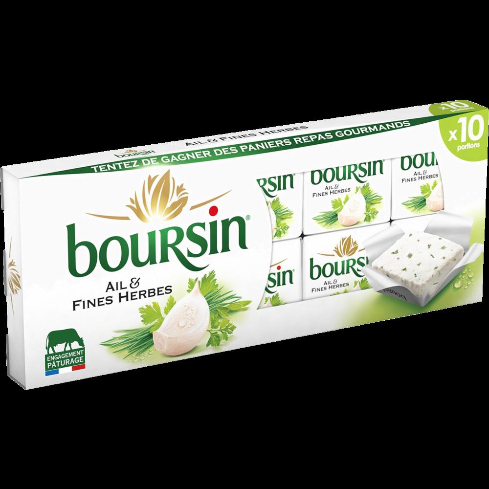 Boursin Ail & Fines Herbes (x 10, 160 g)