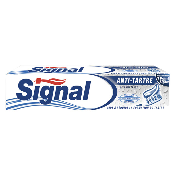 Dentifrice anti-tartre, Signal (75 ml)