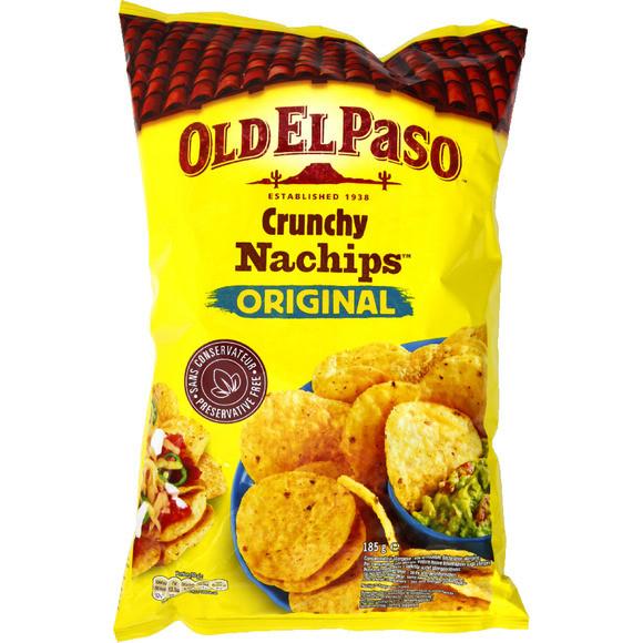 Crunchy Nachips Old El Paso (185 g)