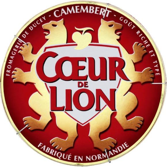 Camembert, Coeur de Lion 45% (250 g)