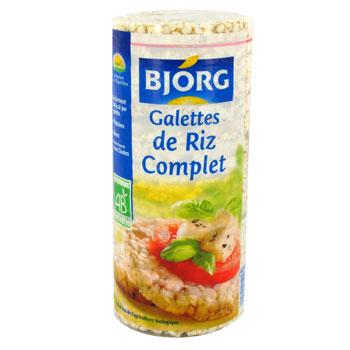 Galette de riz complet BIO, Bjorg (130 g)