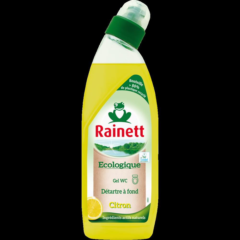Gel WC écologique citron, Rainett (750 ml)