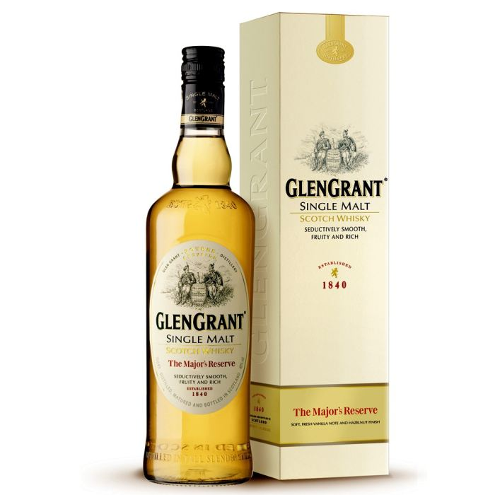 Whisky Glengrant scotch single malt Major's reserve, 40° (70 cl)