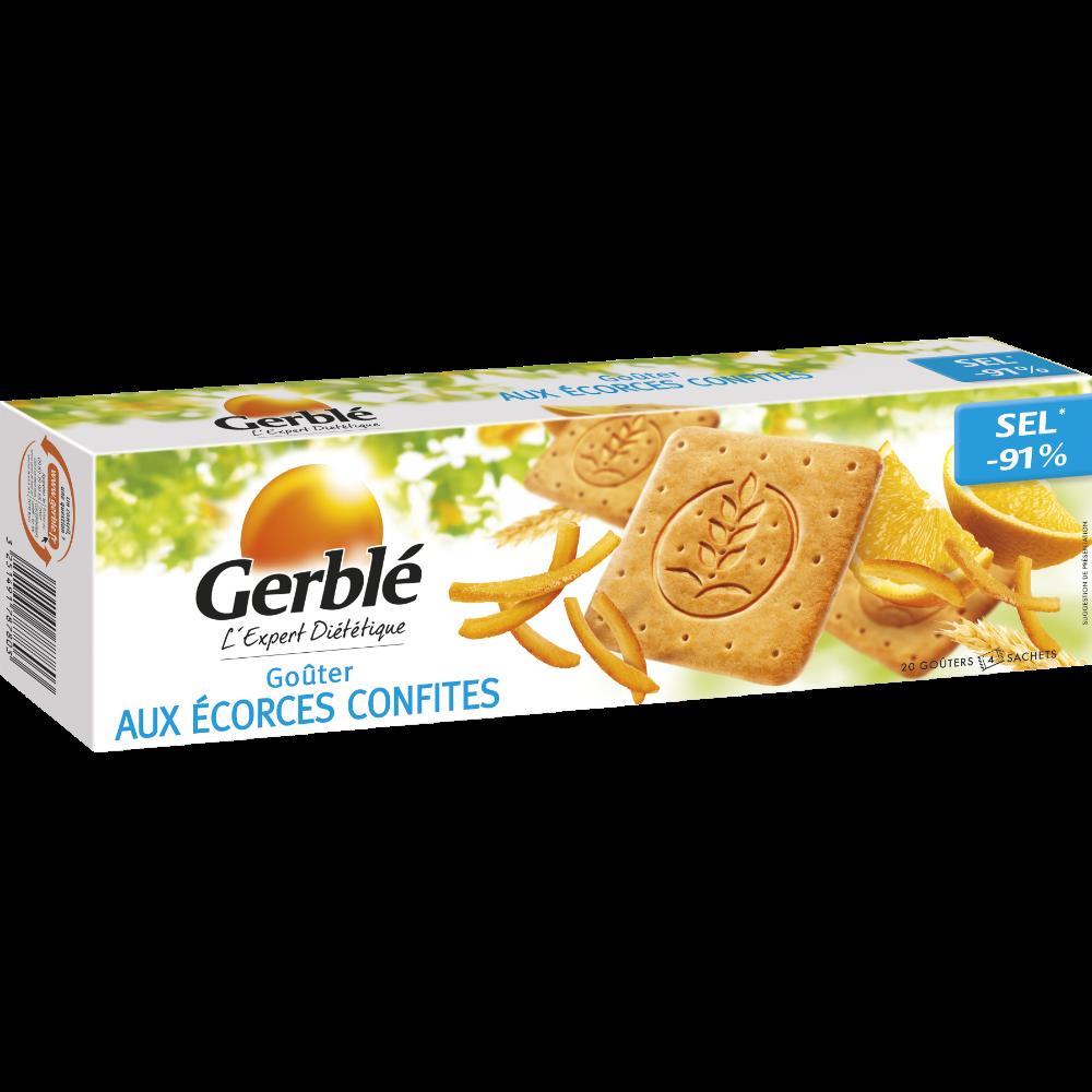Goûters aux écorces confites, Gerblé (360 g)