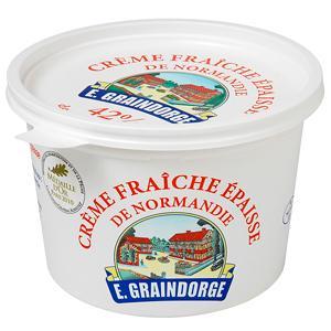 Crème fraiche épaisse de Normandie, Graindorge (50 cl)