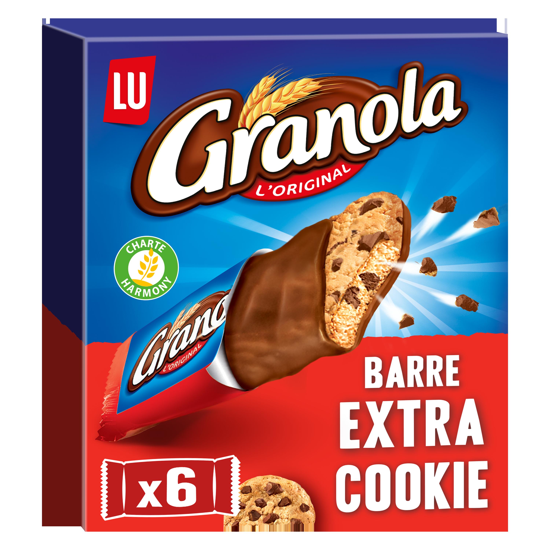 Granola barre extra cookies, Lu (168 g)