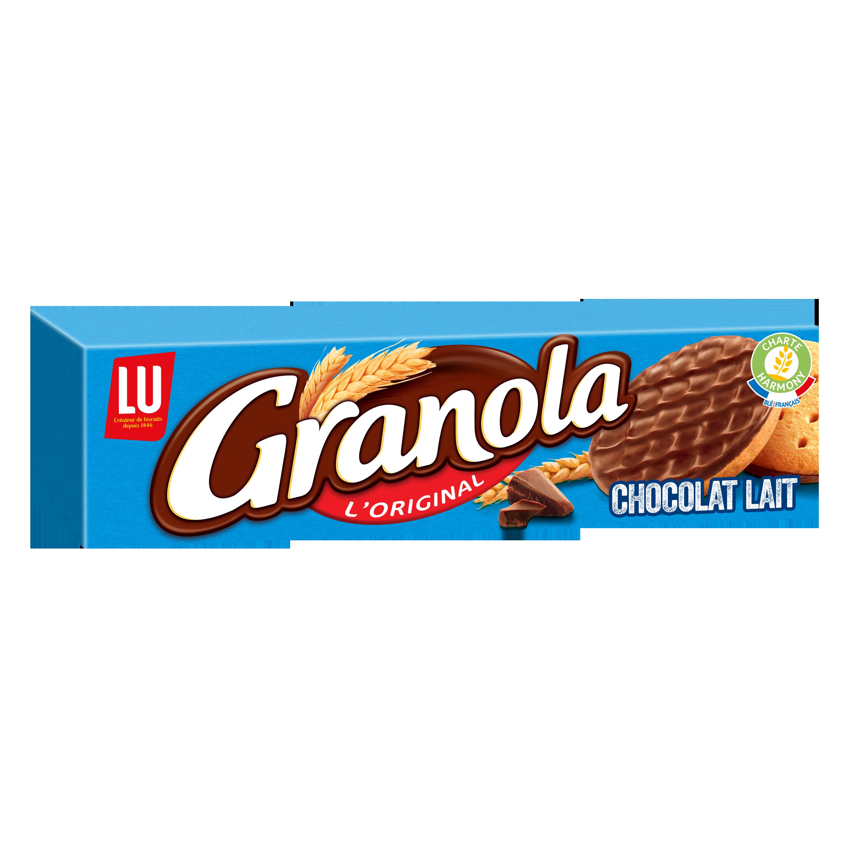 Granola l'original au chocolat au lait, Lu (200 g)