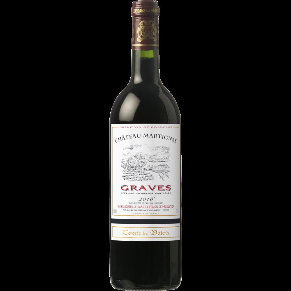 Graves AOC Comte de Valois 2018 (75 cl)