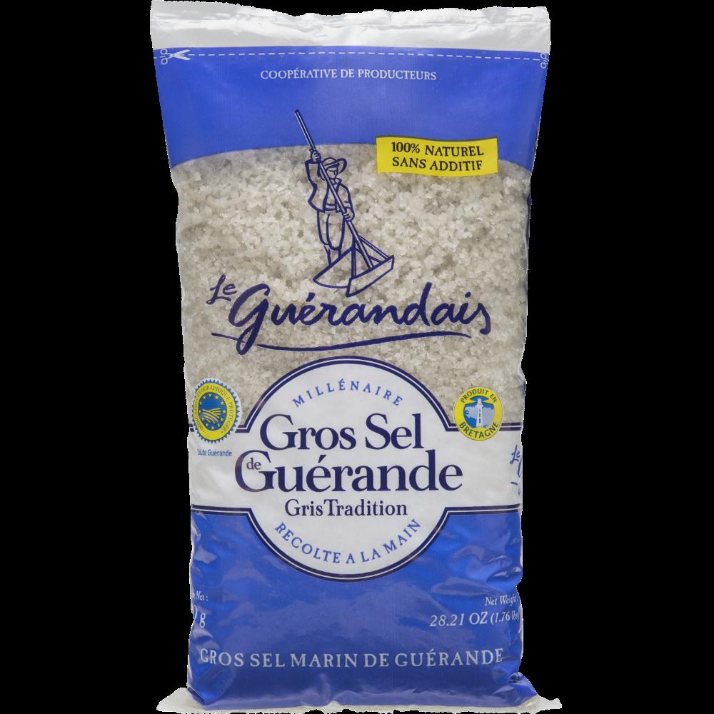 Gros sel de Guérande tradition, Le Guérandais (800 g)