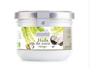 Huile coco vierge BIO, Bio Planète (400 ml)
