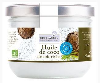 Huile de coco désodorisée BIO, Bio Planète (400 ml)