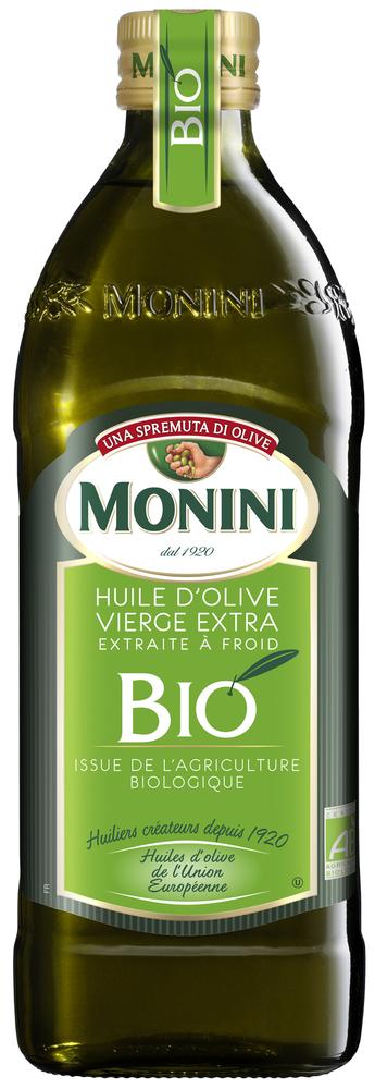 Huile d'olive vierge extra BIO, Monini (75 cl)