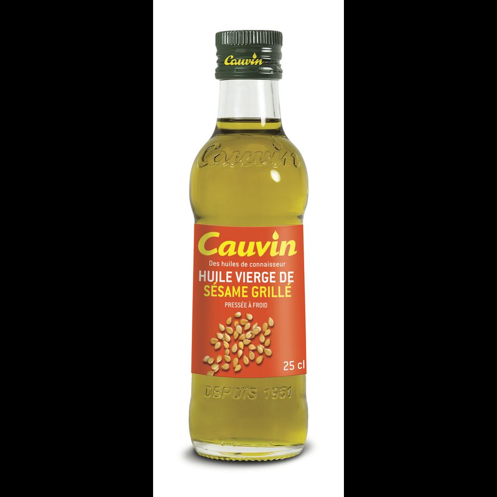 Huile extra vierge sésame grillé, Cauvin (25 cl)