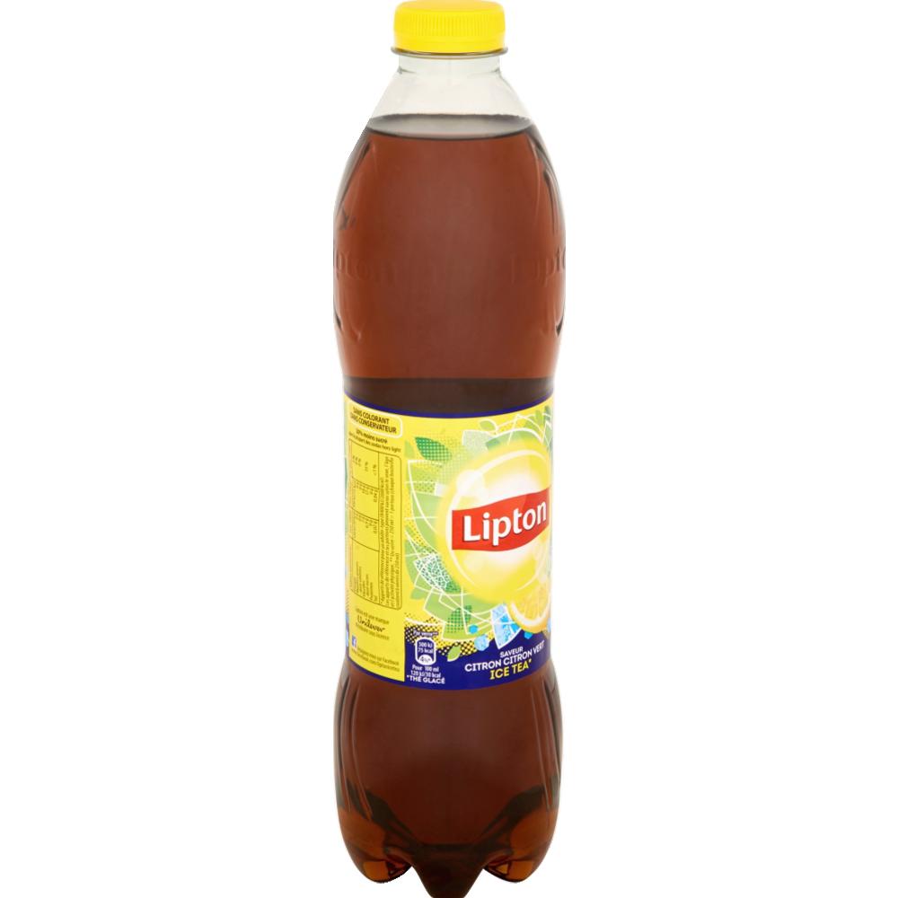 Ice Tea citron-citron vert, Lipton (1.5 L)
