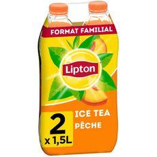 Pack Ice Tea pêche, Lipton (2 x 1.5 L)