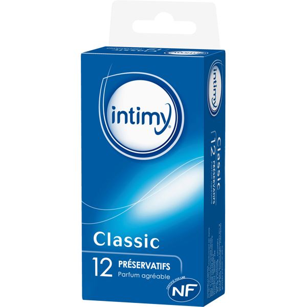 Préservatifs lubrifiés, Intimy (x 14)
