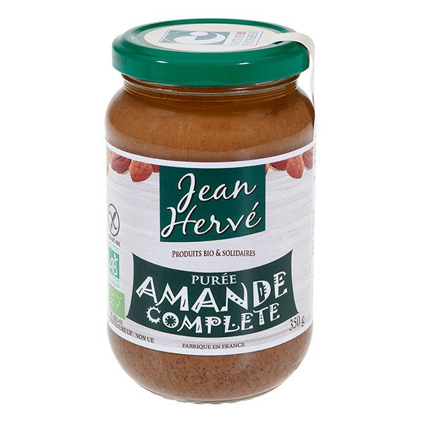 Purée d'amande complète BIO, Jean Hervé (350 g)