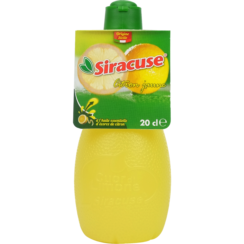 Jus de citron jaune, Siracuse (20 cl)