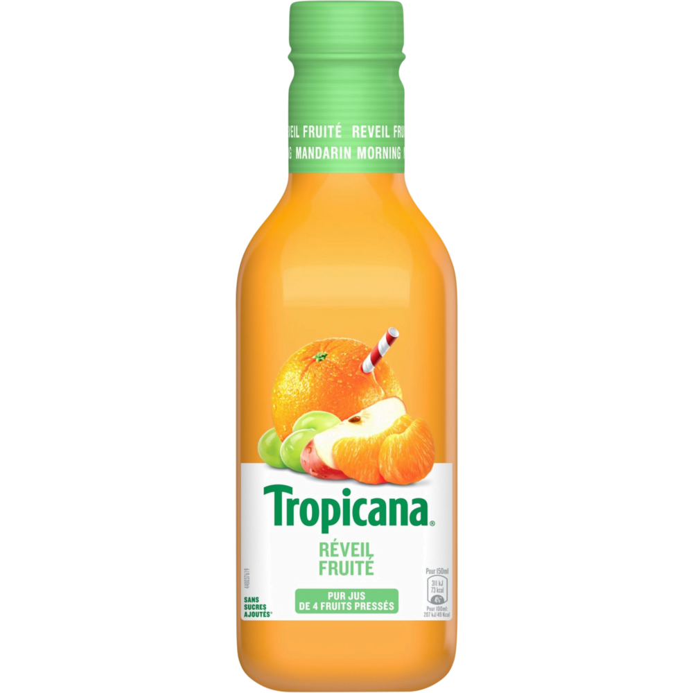 Jus d'orange, raisin et clémentine, Tropicana (90 cl)