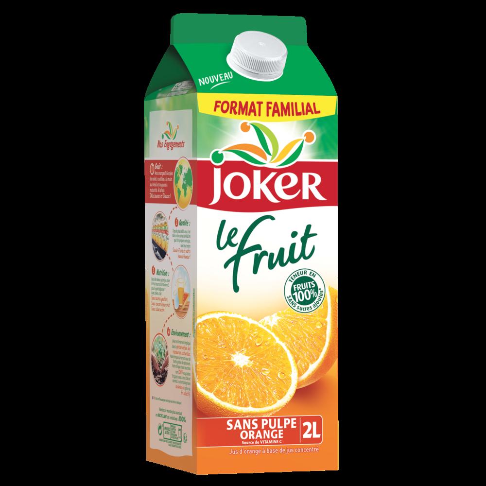 Jus d'orange, Joker (2 L)