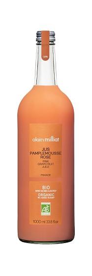 Jus Pamplemousse Rose BIO, Alain Milliat (1 L)