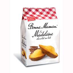 Madeleine au chocolat au Lait, Bonne Maman (x10, 300 g)