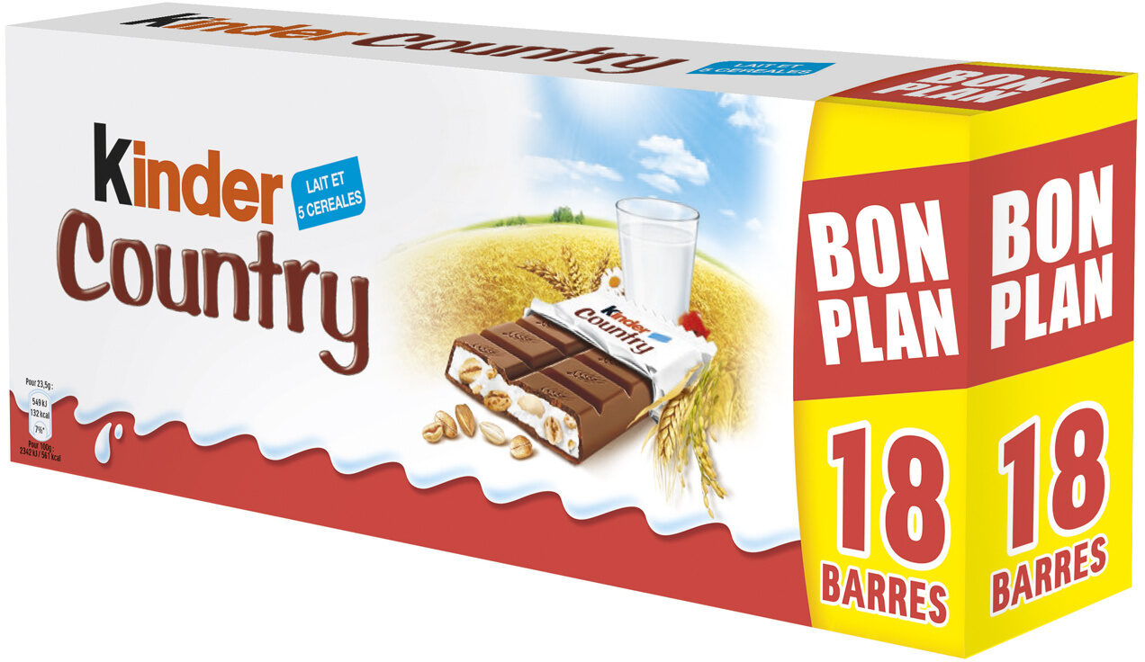 Kinder Country (x 18, 423 g)