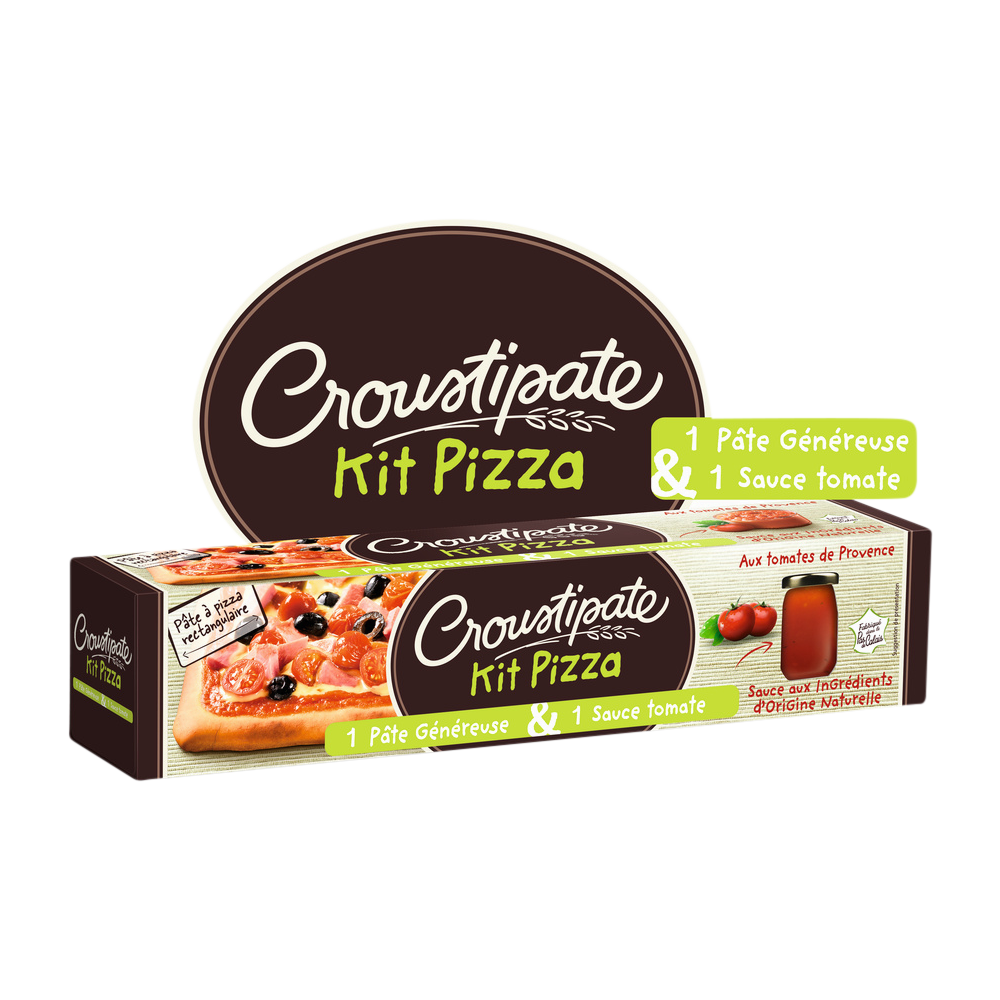 Kit pizza, Croustipate (600 g)