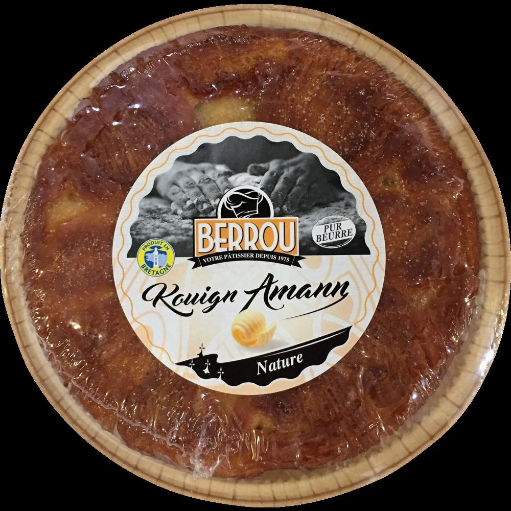 Kouign amann nature pur beurre, Berrou (350 g)