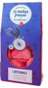 L'Artisanale - Guimauve à la fraise, Le Bonbon Français (55 g)