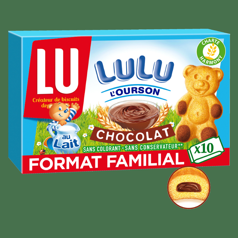 Lulu L'ourson au chocolat, Lu (x 10, 300 g)